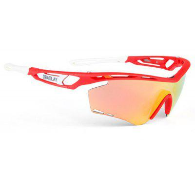 Buy RED SP0908 Protective Polarized Lens Cycling Glasses for $22.30 in GearBest store