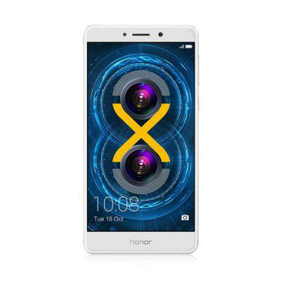 HUAWEI Honor 6X 4G PhabletCell phones<br>HUAWEI Honor 6X 4G Phablet<br><br>2G: GSM 1800MHz,GSM 1900MHz,GSM 850MHz,GSM 900MHz<br>3G: WCDMA B1 2100MHz,WCDMA B5 850MHz,WCDMA B8 900MHz<br>4G LTE: FDD B1 2100MHz,FDD B3 1800MHz,TDD B39 1900MHz,TDD B40 2300MHz,TDD B41 2500MHz<br>Additional Features: Camera, Calculator, Browser, Bluetooth, Alarm, 4G, 3G, E-book, Fingerprint recognition, WiFi, People, Notification, MP4, MP3, Gravity Sensing, Fingerprint Unlocking, Calendar<br>Auto Focus: Yes<br>Back-camera: 12.0MP + 2.0MP<br>Battery Capacity (mAh): 3340mAh<br>Battery Type: Non-removable<br>Bluetooth Version: V4.1<br>Brand: HUAWEI<br>Camera type: Dual cameras (one front one back)<br>Cell Phone: 1<br>Cores: Octa Core, 2.1GHz<br>CPU: Kirin 655<br>External Memory: TF card up to 128GB (not included)<br>Flashlight: Yes<br>Front camera: 8.0MP<br>Google Play Store: Yes<br>I/O Interface: Micro USB Slot, 3.5mm Audio Out Port, 2 x Nano SIM Slot, TF/Micro SD Card Slot, Speaker, Micophone<br>Language: Multi language<br>Music format: AAC, AMR, OGG, MP3<br>Network type: CDMA,FDD-LTE,GSM,TD-SCDMA,TDD-LTE,WCDMA<br>OS: Android 6.0<br>Package size: 16.00 x 9.00 x 6.40 cm / 6.3 x 3.54 x 2.52 inches<br>Package weight: 0.3300 kg<br>Picture format: BMP, PNG, JPG, JPEG, GIF<br>Power Adapter: 1<br>Product size: 15.09 x 7.62 x 0.82 cm / 5.94 x 3 x 0.32 inches<br>Product weight: 0.1620 kg<br>RAM: 3GB RAM<br>ROM: 32GB<br>Screen resolution: 1920 x 1080 (FHD)<br>Screen size: 5.5 inch<br>Screen type: IPS<br>Sensor: Accelerometer,E-Compass,Gravity Sensor,Proximity Sensor<br>Service Provider: Unlocked<br>SIM Card Slot: Dual SIM, Dual Standby<br>SIM Card Type: Nano SIM Card<br>SIM Needle: 1<br>TD-SCDMA: TD-SCDMA B34/B39<br>Touch Focus: Yes<br>Type: 4G Phablet<br>USB Cable: 1<br>Video format: 3GP, MKV, MP4<br>Video recording: Yes<br>WIFI: 802.11b/g/n wireless internet<br>Wireless Connectivity: GPS, WiFi, Bluetooth, A-GPS, 4G, 3G, GSM