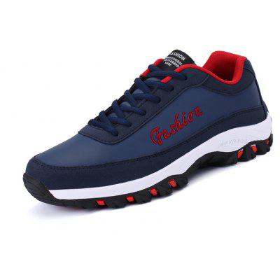 Buy BLUE Thick Soles Leisure Shoes for Men for $30.49 in GearBest store