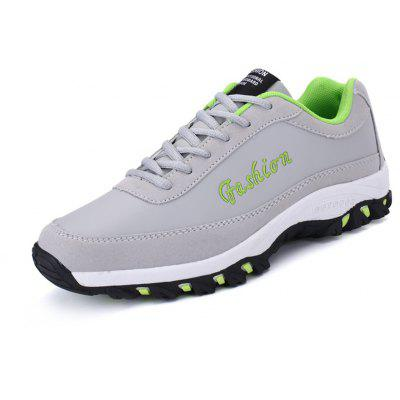 Buy GRAY Thick Soles Leisure Shoes for Men for $30.49 in GearBest store