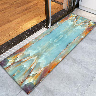 3D Printing Attractive Marble Pattern Non-Slip Floor Carpet