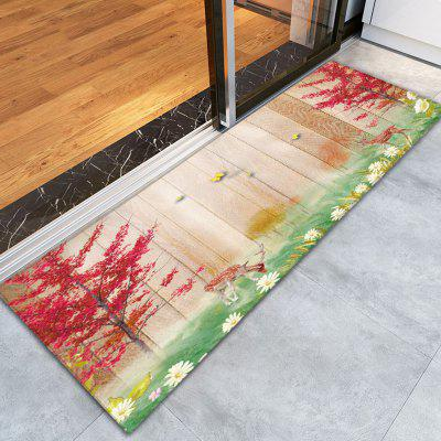 Buy COLORMIX 3D Printing Mangrove / Deerlet Pattern Non-Slip Floor Carpet for $12.58 in GearBest store