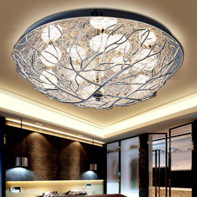 Nest Shape Crystal LED Ceiling Light 220VFlush Ceiling Lights<br>Nest Shape Crystal LED Ceiling Light 220V<br><br>Features: Remote-Controlled<br>Illumination Field: 25 - 30sqm<br>Luminous Flux: 4400lm<br>Package Contents: 1 x Ceiling Light, 1 x Remote Controller<br>Package size (L x W x H): 70.00 x 70.00 x 30.00 cm / 27.56 x 27.56 x 11.81 inches<br>Package weight: 4.5500 kg<br>Product size (L x W x H): 60.00 x 60.00 x 20.00 cm / 23.62 x 23.62 x 7.87 inches<br>Product weight: 4.0000 kg<br>Sheathing Material: Metal, Crystal<br>Type: Ceiling Lights<br>Voltage (V): 220V<br>Wattage (W): 48W<br>Wavelength / CCT: 2700-6500K