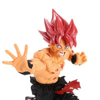 Red-haired Fighting Man PVC Action Figure ToyMovies &amp; TV Action Figures<br>Red-haired Fighting Man PVC Action Figure Toy<br><br>Completeness: Finished Goods<br>Gender: Boys<br>Materials: PVC<br>Package Contents: 1 x Action Figure ( with Mount )<br>Package size: 12.00 x 9.00 x 18.00 cm / 4.72 x 3.54 x 7.09 inches<br>Package weight: 0.3460 kg<br>Product size: 15.00 x 7.00 x 21.00 cm / 5.91 x 2.76 x 8.27 inches<br>Product weight: 0.2440 kg<br>Stem From: Japan<br>Theme: Movie and TV