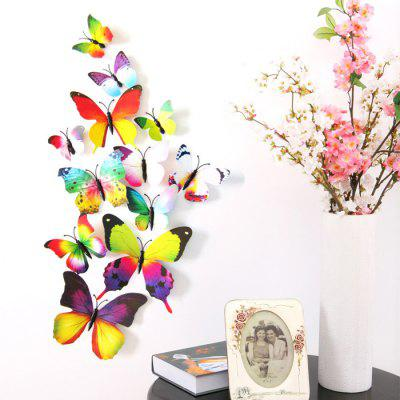 Creative Home Decor Magnetic Butterflies Wall Sticker