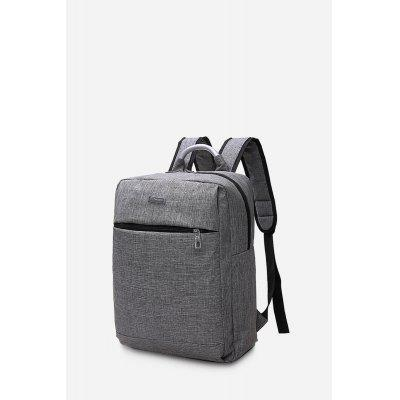 Men Chic Contracted Design Backpack