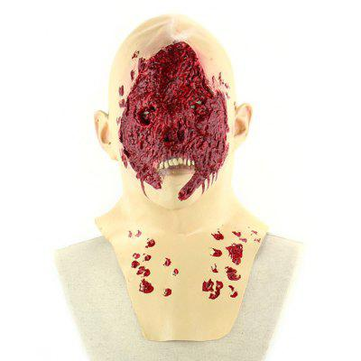 Scary Bloody Face Zombie Mask
