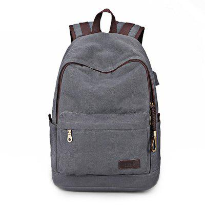Buy LIGHT GREY SIMU Multifunctional Outdoor Men Backpack of Laptop for $30.99 in GearBest store