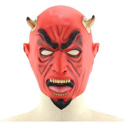 Irritated Yaksha Latex Mask