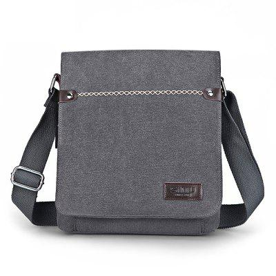 Buy LIGHT GREY SIMU Casual Multifunctional Outdoor Shoulder Bag for $26.72 in GearBest store