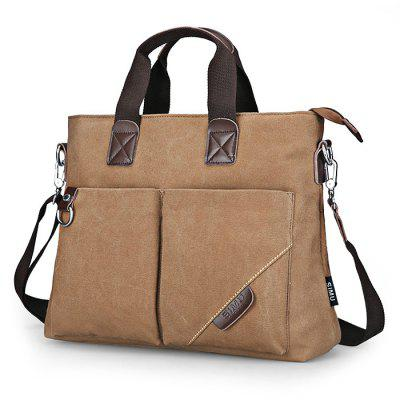 Buy COFFEE SIMU Nylon Canvas Business Handbag for $38.60 in GearBest store