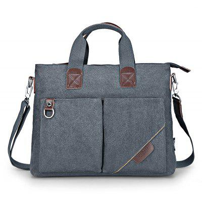SIMU Nylon Canvas Business Handbag