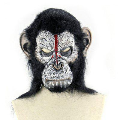 Bleeding Head Ape Latex Mask