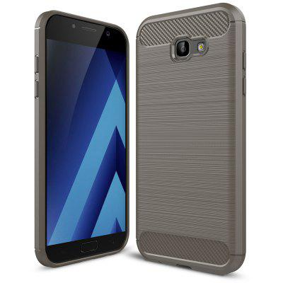 Buy GRAY Luanke Brushed Lines Case for Samsung Galaxy A7 for $5.62 in GearBest store