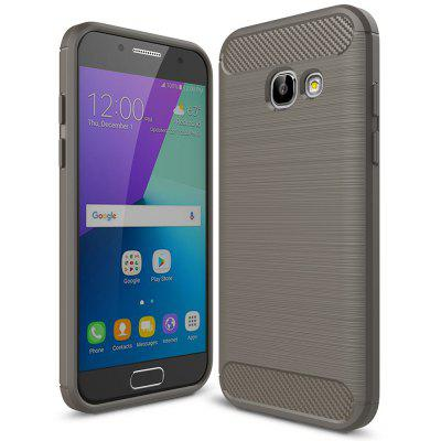 Buy GRAY Luanke Brushed Lines Case for Samsung Galaxy A3 / 320 for $5.53 in GearBest store