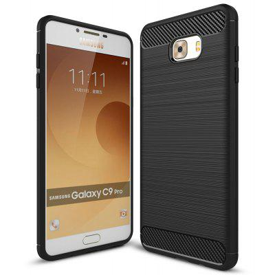 Luanke Brushed Line Case for Samsung Galaxy C9 Pro