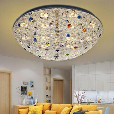 Round Shape Crystal LED Ceiling Light 220V