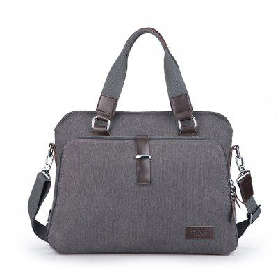 SIMU Classic Nylon Canvas Shoulder Business Bag
