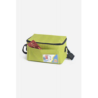 Portable Compact Horizontal Lunch Bag