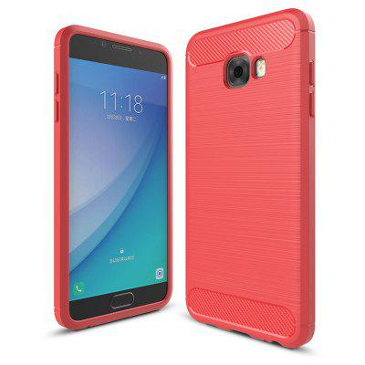Luanke Brushed Lines Case for Samsung Galaxy C5 Pro