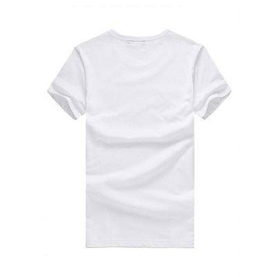 Men Fashion Cat Print Round Neck Short Sleeve T-shirtMens Short Sleeve Tees<br>Men Fashion Cat Print Round Neck Short Sleeve T-shirt<br><br>Material: Cotton<br>Neckline: Round Neck<br>Package Content: 1 x T-shirt<br>Package size: 26.00 x 20.00 x 1.00 cm / 10.24 x 7.87 x 0.39 inches<br>Package weight: 0.2500 kg<br>Product weight: 0.2000 kg<br>Season: Summer<br>Sleeve Length: Short Sleeves<br>Style: Fashion, Casual