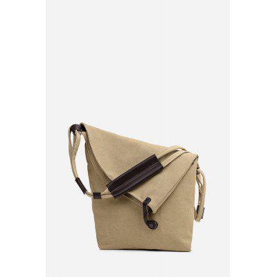 Contracted All-match Canvas Sling Bag for Women