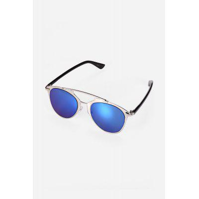 Buy REFLECTIVE BLUE COLOR Individual Unisex Sunglasses for $11.97 in GearBest store