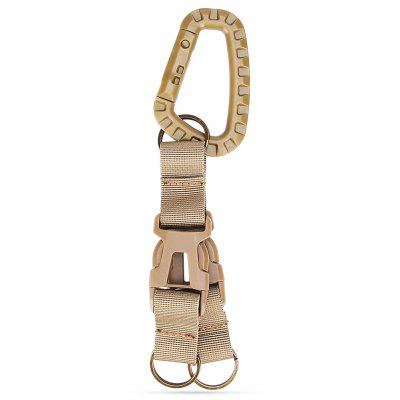 Buy KHAKI Hanging Buckle with 2 Belts for Waistband / MOLLE Backpack for $3.27 in GearBest store
