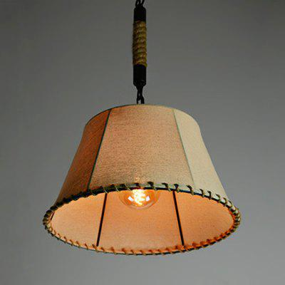 Retro Linen Hemp Rope Hand-woven Pendant Light 220VPendant Light<br>Retro Linen Hemp Rope Hand-woven Pendant Light 220V<br><br>Battery Included: No, No<br>Bulb Base: E27<br>Bulb Included: No, No<br>Chain / Cord Adjustable or Not: Chain / Cord Adjustable, Chain / Cord Adjustable<br>Chain / Cord Length ( CM ): 120, 120<br>Features: Eye Protection, Eye Protection<br>Fixture Height ( CM ): 22, 22<br>Fixture Length ( CM ): 40, 40<br>Fixture Width ( CM ): 40, 40<br>Light Direction: Downlight, Downlight<br>Light Source Color: Warm White<br>Number of Bulb: 1 Bulb<br>Number of Bulb Sockets: 1<br>Package Contents: 1 x Light, 1 x Assembly Parts, 1 x Light, 1 x Assembly Parts<br>Package size (L x W x H): 50.00 x 50.00 x 25.00 cm / 19.69 x 19.69 x 9.84 inches, 50.00 x 50.00 x 25.00 cm / 19.69 x 19.69 x 9.84 inches<br>Package weight: 4.0400 kg, 4.0400 kg<br>Product weight: 3.0000 kg, 3.0000 kg<br>Remote Control Supported: No, No<br>Shade Material: Cloth<br>Style: Modern/Contemporary, Modern/Contemporary<br>Suggested Room Size: 0 - 5?, 0 - 5?<br>Suggested Space Fit: Bedroom,Dining Room,Kitchen,Living Room,Study Room, Bedroom,Dining Room,Kitchen,Living Room,Study Room<br>Type: Pendant Light, Pendant Light<br>Voltage ( V ): AC220, AC220