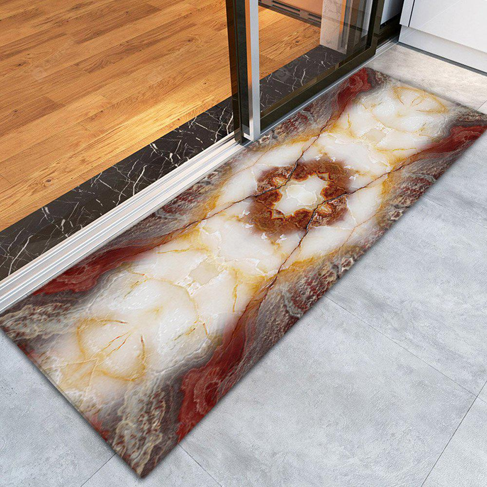 COLORMIX 3D Printing Claybank Marble Pattern Non-Slip Floor Carpet