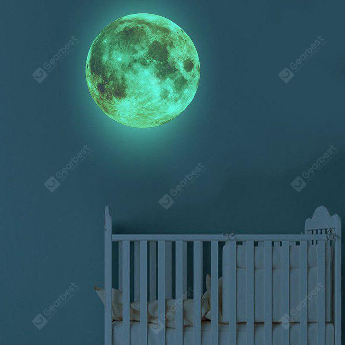 Creative Fluorescence Moon Wall Sticker