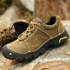 Genuine Leather Outdoor Hiking / Climbing Shoes for Men - KHAKI