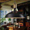 American Retro Industrial Style Simple Pot Chandelier 220V - BLACK WHITE