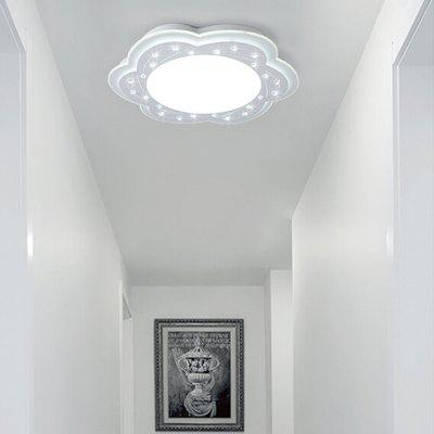 Flower Shape Acrylic LED Ceiling Light 220VFlush Ceiling Lights<br>Flower Shape Acrylic LED Ceiling Light 220V<br><br>Features: Remote-Controlled<br>Illumination Field: 12 - 15sqm<br>Luminous Flux: 1000lm<br>Optional Light Color: Natural White,Warm White + White<br>Package Contents: 1 x Ceiling Light, 1 x Remote Controller<br>Package size (L x W x H): 45.00 x 45.00 x 16.50 cm / 17.72 x 17.72 x 6.5 inches<br>Package weight: 3.0400 kg<br>Product size (L x W x H): 35.00 x 35.00 x 6.50 cm / 13.78 x 13.78 x 2.56 inches<br>Product weight: 2.0000 kg<br>Sheathing Material: Iron, Crystal, Acrylic<br>Type: Ceiling Lights<br>Voltage (V): 220V<br>Wattage (W): 12<br>Wavelength / CCT: 3000K,4000K,6500K