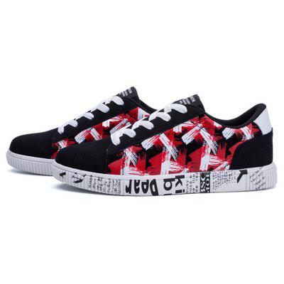 Men Stylish All-match  Canvas Skateboarding Shoes