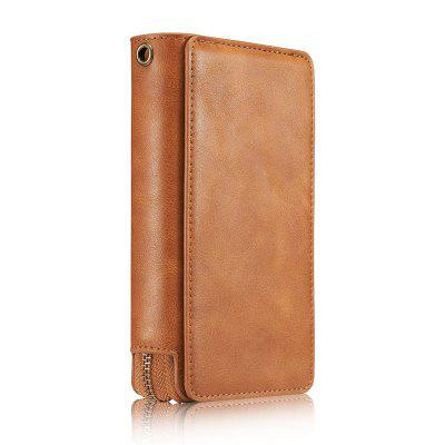 Retro Zipper Wallet Phone Cover Case for Samsung Galaxy S8Samsung S Series<br>Retro Zipper Wallet Phone Cover Case for Samsung Galaxy S8<br><br>Compatible with: Samsung Galaxy S8<br>Features: Anti-knock, Full Body Cases, With Credit Card Holder, With Lanyard<br>Material: PU Leather<br>Package Contents: 1 x Phone Case<br>Package size (L x W x H): 18.00 x 11.00 x 4.90 cm / 7.09 x 4.33 x 1.93 inches<br>Package weight: 0.2150 kg<br>Product size (L x W x H): 15.00 x 8.00 x 3.90 cm / 5.91 x 3.15 x 1.54 inches<br>Product weight: 0.1920 kg<br>Style: Solid Color, Cool
