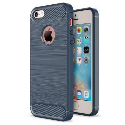 Luanke Wiredrawing Grain Cover Case voor iPhone 5 / 5S