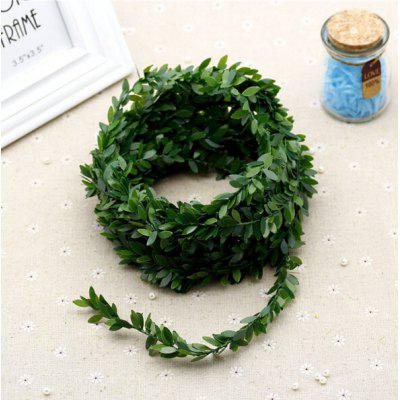 Buy GREEN Plastic Iron Wire Artificial Rattan for Garland DIY for $4.57 in GearBest store