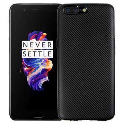 Slim Carbon Fiber Matte Phone Case Cover Protector for OnePlus 5
