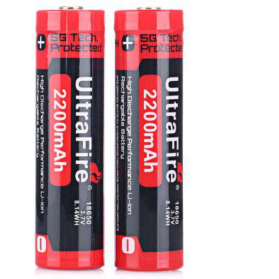 UltraFire 18650 Li-ion Rechargeable Battery