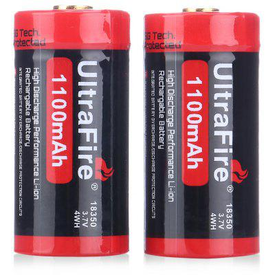 UltraFire 18350 Li-ion Rechargeable Battery