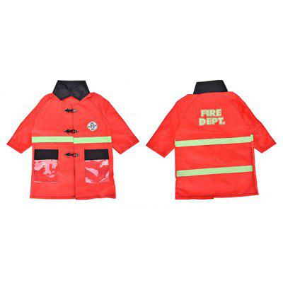 Children Pretend Play Firefighter Uniform Costume