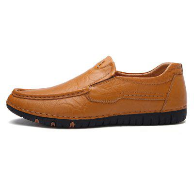 Genuine Leather Slip-on Driving Shoes for Men member