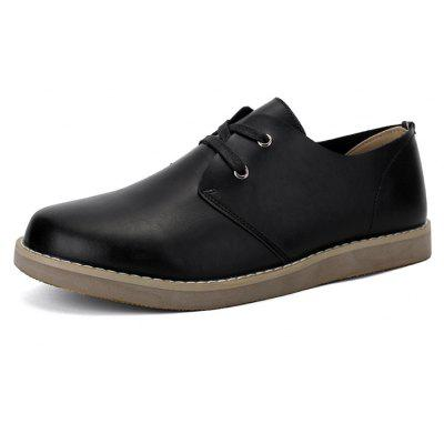 Men Working Casual Leather Shoes