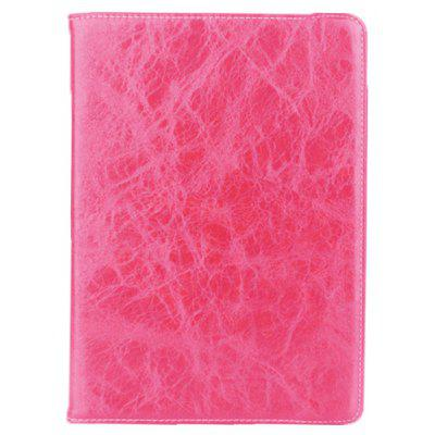 Crazy Horse Rotatable Kickstand Leather Tablet Cover Case for iPad 2017