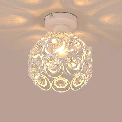 LightMyself YQ6623 - 1X  E27 White Crystal Ceiling LightPendant Light<br>LightMyself YQ6623 - 1X  E27 White Crystal Ceiling Light<br><br>Beam Angle: 360 degree<br>Illumination Field: 10sqm<br>Package Contents: 1 x Ceiling Light, 1 x English Installation Manual, 1 x Installation Kit, 1 x Spare Parts<br>Package size (L x W x H): 25.00 x 25.00 x 17.00 cm / 9.84 x 9.84 x 6.69 inches<br>Package weight: 1.6300 kg<br>Product size (L x W x H): 20.00 x 20.00 x 20.00 cm / 7.87 x 7.87 x 7.87 inches<br>Product weight: 1.0000 kg<br>Sheathing Material: Iron, Crystal<br>Type: Ceiling Lights<br>Voltage (V): AC 110-120V