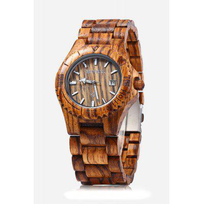 Bewell ZS - W020C Quartz Men WatchMens Watches<br>Bewell ZS - W020C Quartz Men Watch<br><br>Band material: Wood<br>Brand: Bewell<br>Case material: Wood<br>Clasp type: Folding clasp with safety<br>Display type: Analog<br>Hour formats: 12 Hour<br>Movement type: Quartz watch<br>Package Contents: 1 x Bewell Men Quartz Watch<br>Package size (L x W x H): 23.00 x 3.50 x 2.20 cm / 9.06 x 1.38 x 0.87 inches<br>Package weight: 0.0850 kg<br>Product size (L x W x H): 22.00 x 4.50 x 1.20 cm / 8.66 x 1.77 x 0.47 inches<br>Product weight: 0.0640 kg<br>Shape of the dial: Round<br>Special features: Date, Luminous<br>The band width: 2.5 cm / 0.98 inches<br>The dial diameter: 4 cm / 1.57 inches<br>The dial thickness: 1.2 cm / 0.47 inches<br>Watch style: Fashion<br>Watches categories: Male table<br>Wearable length: 22 cm / 8.66 inches