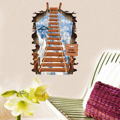 8008 3D Self Adhesive Removable Steps Wall Sticker