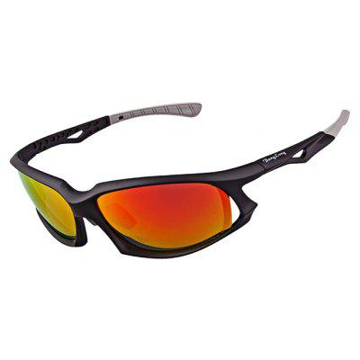 Buy RED WITH BLACK XQ 449 Protective Polarized Lens Cycling Glasses Set for $15.49 in GearBest store