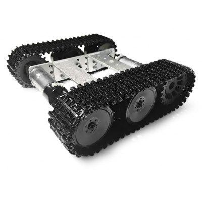 SZDoit TP100 Mini Aluminum Alloy RC Tank Chassis DIY Kit
